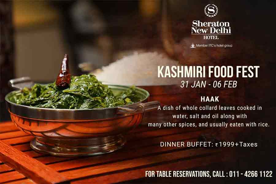 Authentic food fest at Sheraton