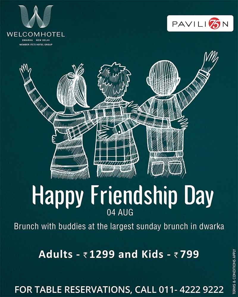 Friendship day at Pavilion 75
