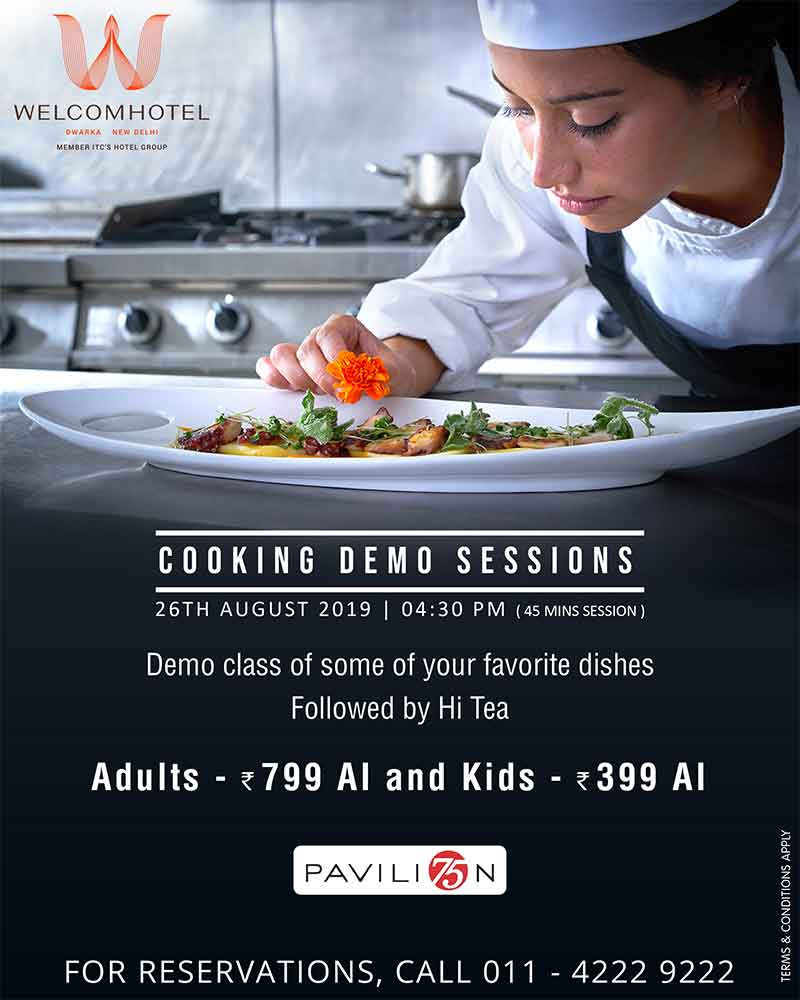 Cooking spree at WelcomHotel